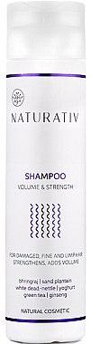 Volumen-Shampoo für sanfte und müde Haare - Naturativ Volume & Shine Shampoo — Bild N2