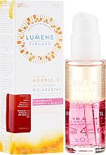 Düfte, Parfümerie und Kosmetik Feuchtigkeitsspendendes Gesichtsöl mit Vitaminen - Lumene Nordic-C Valo Arctic Berry Oil-Cocktail