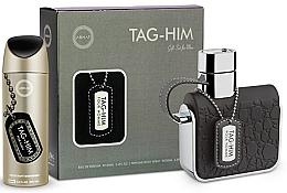 Düfte, Parfümerie und Kosmetik Armaf Tag Him For Men - Duftset (Despray 200ml + Eau de Toilette 100ml)