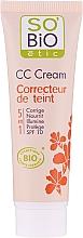 Düfte, Parfümerie und Kosmetik 5in1 CC Creme SPF 10 - So'Bio Etic CC Cream