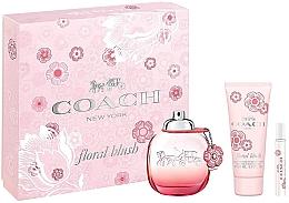Düfte, Parfümerie und Kosmetik Coach Floral Blush - Duftset (Eau de Parfum 90ml + Eau de Parfum 7.5ml + Körperlotion 100ml)