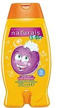 Düfte, Parfümerie und Kosmetik 2in1 Shampoo und Haarspülung für Kinder mit Pflaumenduft - Avon Shampoo