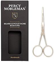 Düfte, Parfümerie und Kosmetik Bart- und Schnurrbartschere - Percy Nobleman Beard & Moustache Scissors