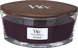Düfte, Parfümerie und Kosmetik Duftkerze im Glas Black Cherry - Woodwick Ellipse Black Cherry
