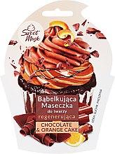 Düfte, Parfümerie und Kosmetik Regenerierende Gesichtsmaske - Marion Sweet Mask Chocolate Orange Cake