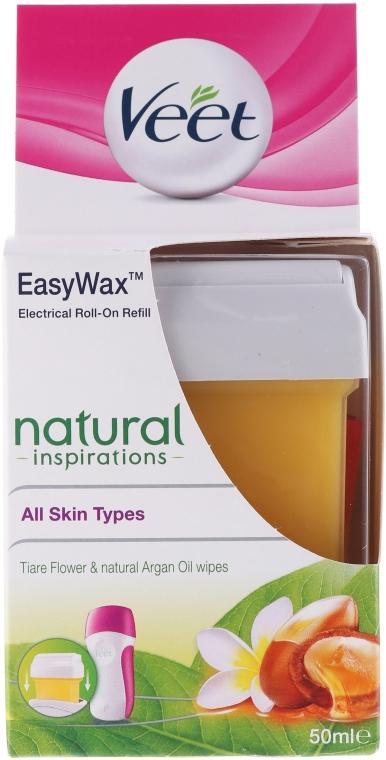 Wachspatrone mit Tiareblüten und Arganöl - Veet Easy Wax Natural Inspirations