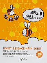 Düfte, Parfümerie und Kosmetik Feuchtigkeitsspendende und nährende Tuchmaske mit Honigextrakt - Esfolio Pure Skin Essence Mask Sheet Honey