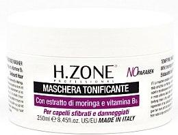 Düfte, Parfümerie und Kosmetik Pflegemaske für strapaziertes Haar mit Moringa-Extrakt und Vitamin B6 - H.Zone Masque Tofiant