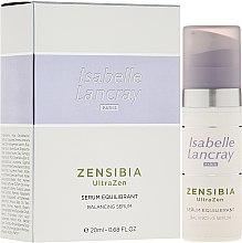 Düfte, Parfümerie und Kosmetik Ausgleichendes Gesichtsserum - Isabelle Lancray Zensibia Ultrazen Serum Equilibrant