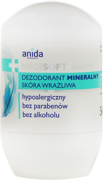Deo Roll-On - Anida Pharmacy Medisoft Mineral Deo