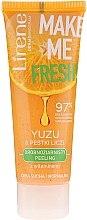 Düfte, Parfümerie und Kosmetik Feinkörniges Gesichtspeeling mit Yuzu und Moringa für trockene und normale Haut - Lirene Make Me Fresh! Peeling