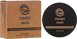 Düfte, Parfümerie und Kosmetik Aufhellender Holzkohle Puder - Mohani Smile Teeth Whitening Charcoal Powder