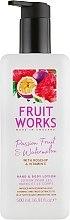 Düfte, Parfümerie und Kosmetik Hand- und Körperlotion mit Passionsfrucht und Wassermelone - Grace Cole Fruit Works Hand & Body Lotion Passion Fruit & Watermelon