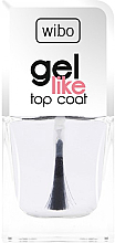 Düfte, Parfümerie und Kosmetik Gel Nagelüberlack - Wibo Gel Like Top Coat