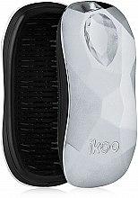 Düfte, Parfümerie und Kosmetik Haarbürste Prima Ballerina Silver - Ikoo Home Black Prima Ballerina Silver