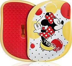 Düfte, Parfümerie und Kosmetik Kompakte Haarbürste - Tangle Teezer Compact Styler Minnie Mouse Yellow