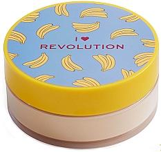 Düfte, Parfümerie und Kosmetik Loser Gesichtspuder - I Heart Revolution Loose Baking Powder Banana
