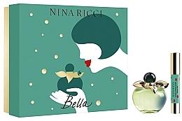 Düfte, Parfümerie und Kosmetik Nina Ricci Bella - Duftset (Eau de Toilette 80ml + Lippenstift)