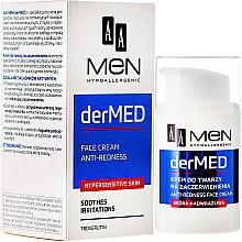 Düfte, Parfümerie und Kosmetik Beruhigende Gesichtscreme - AA Cosmetics Men derMed Anti-Redness Face Cream