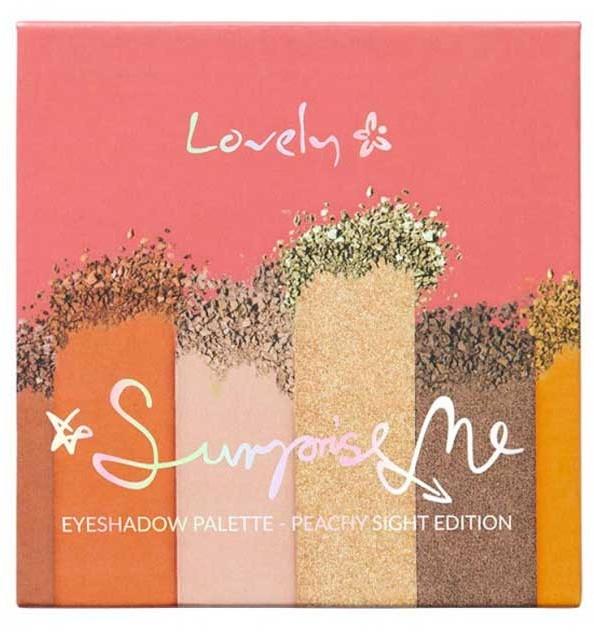 Lidschattenpalette - Lovely Surprise Me Eyeshadow Palette Peachy Sight Edition
