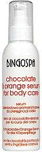 Düfte, Parfümerie und Kosmetik Pflegendes Körperserum Schokolade und Orange - BingoSpa Serum Chocolate & Orange