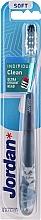 Düfte, Parfümerie und Kosmetik Zahnbürste weich Individual Clean mit Schutzkappe, blau mit Eule - Jordan Individual Clean Soft