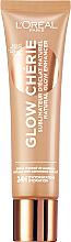 Düfte, Parfümerie und Kosmetik Deckende Fluid Foundation mit Schimmereffekt - L'Oreal Paris Glow Cherie