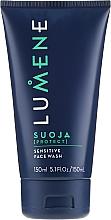 Düfte, Parfümerie und Kosmetik Mildes Gesichtswaschgel - Lumene Men Suoja Sensitive Face Wash