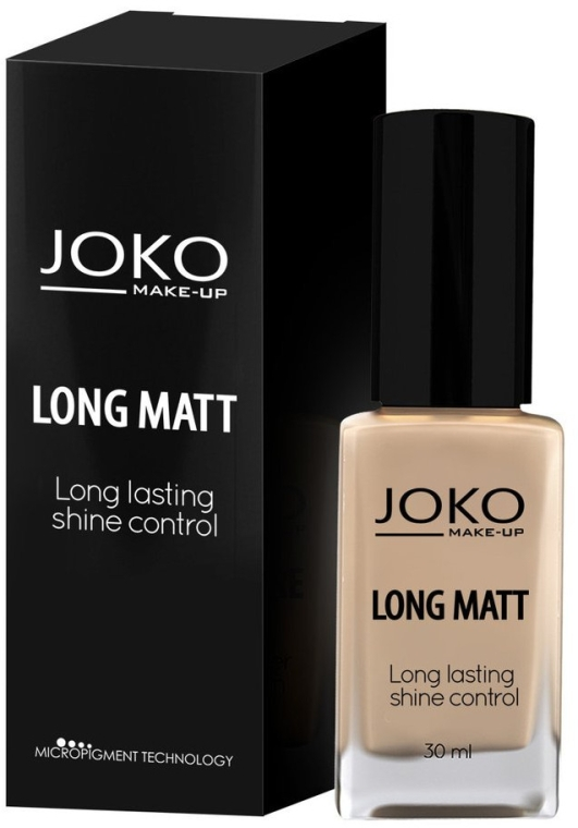 Langanhaltende und mattierende Foundation - Joko Long Matt