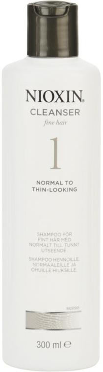 Reinigungsshampoo für feines Haar - Nioxin Thinning Hair System 1 Cleanser Shampoo