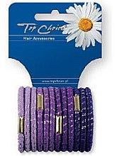 Düfte, Parfümerie und Kosmetik Haargummis lila 12 St. 21312 - Top Choice