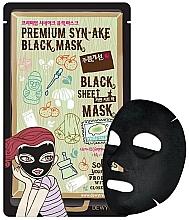 Düfte, Parfümerie und Kosmetik Detox-Tuchmaske für das Gesicht mit vulkanischem Ton - Dewytree Premium Synake Black Sheet Mask