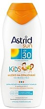 Düfte, Parfümerie und Kosmetik Kinder Sonnenschutzlotion SPF 30 - Astrid Sun Kids Milk SPF 30