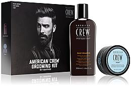 Düfte, Parfümerie und Kosmetik Haarpflegeset - American Crew Grooming Kit (Shampoo 250ml + Haarpaste 85ml)