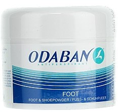Düfte, Parfümerie und Kosmetik Fuß- und Schuhpuder - Odaban Foot and Shoe Powder