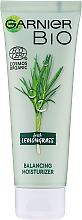 Düfte, Parfümerie und Kosmetik Feuchtigkeitsspendende Gesichtscreme mit Zitronengras - Garnier Bio Fresh Lemongrass