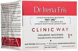 Glättende Anti-Falten Gesichtscreme mit Hyaluronsäure - Dr Irena Eris Clinic Way 1° anti-wrinkle care — Bild N1