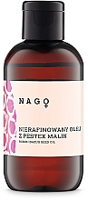 Düfte, Parfümerie und Kosmetik Unraffiniertes Haar- und Körperöl mit Himbeersamen - Fitomed Rubus Idaeus Seed Oil