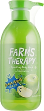 Düfte, Parfümerie und Kosmetik Duschgel Grüner Apfel - Farms Therapy Sparkling Body Wash Green Apple