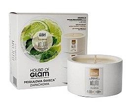 Düfte, Parfümerie und Kosmetik Soja-Duftkerze Calabrian Mojito - House of Glam Raw White Collection Calabrian Mojito Candle