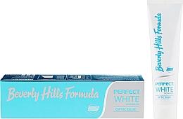 Düfte, Parfümerie und Kosmetik Zahnpasta Perfect White - Beverly Hills Formula Perfect White Optic Blue