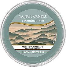"""Düfte, Parfümerie und Kosmetik Duftwachs """"Misty Mountains"""" für elektrische Duftlampe - Yankee Candle Misty Mountains Scenterpiece Melt Cup"""
