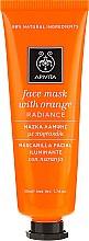 Düfte, Parfümerie und Kosmetik Gesichtsmaske mit Orange für strahlende Haut - Apivita Radiance Face Mask with Orange