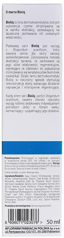 Beruhigende Gesichtscreme zur Stärkung der Blutgefäße - Bioliq Dermo Face Cream — Bild N3