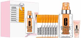 Düfte, Parfümerie und Kosmetik Gesichtspflegeset - Clinique Supercharged Skin Your Way (Gesichtsgel 115ml + Gesichtskonzentrat 10ml + Puder 7x0.5g + Augenkonzentrat 5ml)