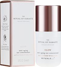 Düfte, Parfümerie und Kosmetik Anti-Aging Augenkonzentrat mit Safranblüte und Lotosblume - Rituals The Ritual Of Namaste Anti-Aging Eye Concentrate