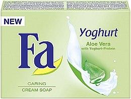 Düfte, Parfümerie und Kosmetik Pflegende Cremeseife mit Joghurt und Aloe Vera - Fa Yoghurt Aloe Vera Cream Soap