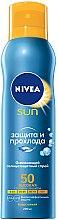 Erfrischendes wasserfestes Sonnenschutzspray für den Körper SPF 50 - Nivea Sun Care — Bild N1