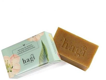 Naturseife mit Hanföl und Muskatnuss - Hagi Soap