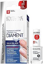 Düfte, Parfümerie und Kosmetik Stärkungsmittel für die Nägel mit Diamanten - Eveline Cosmetics Nail Therapy Professional